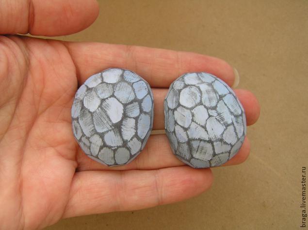 камни полимерная глина