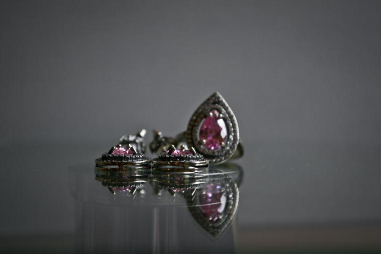 розовый, подарок, камень