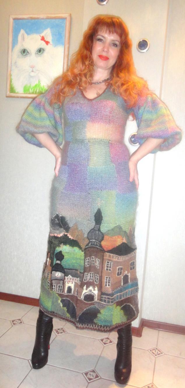 авторское платье