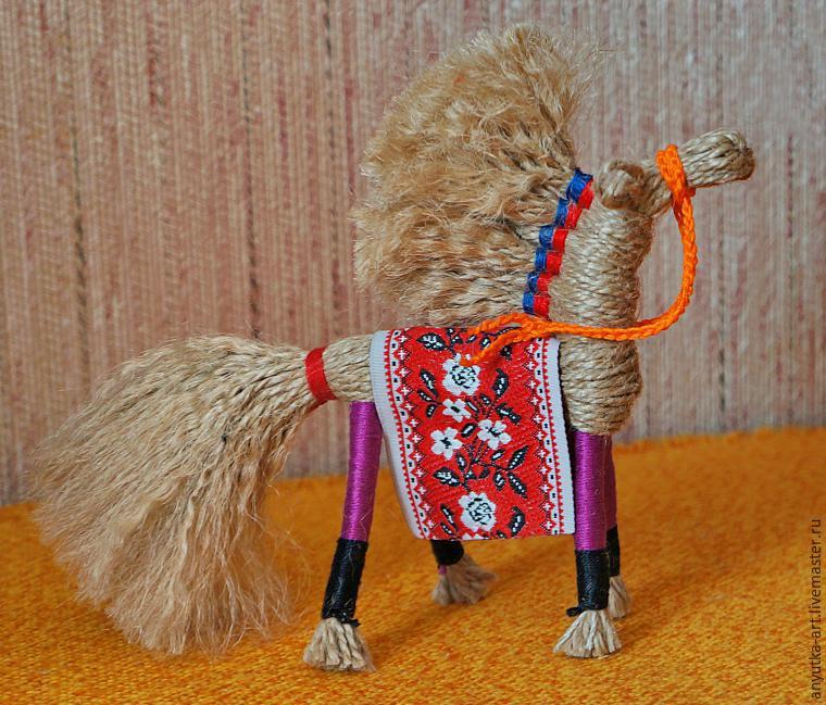 Кукла-оберег Солнечный конь - Бастилия