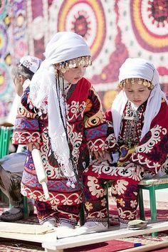 Tajikistan traditional costume