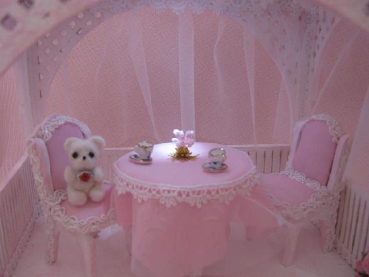 домик для кукол, чай