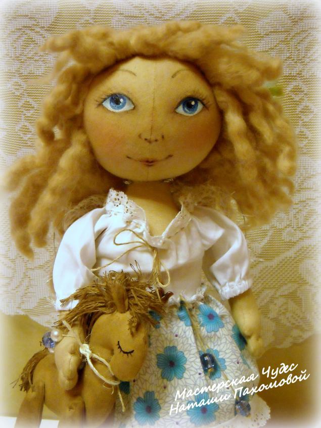 мк по кукле, индивидуальное обучение, шьем сами куклу