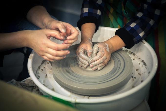 мастер-класс, мастер-класс по глине, подарок, подарочный сертификат, гончарный круг