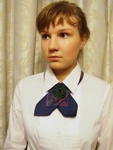 платок, украшение на шею