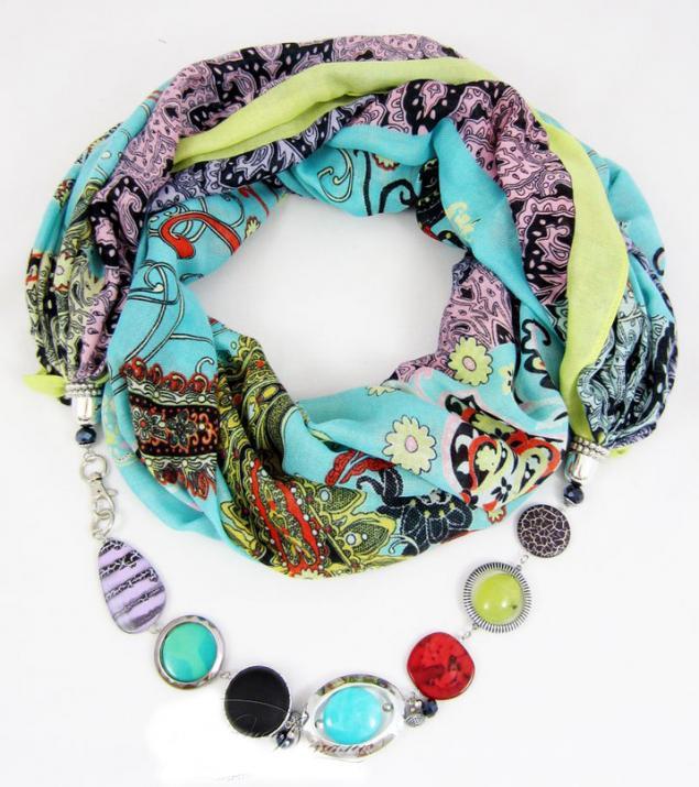 Как можно украсить косынки,шарфики,платочки с помощью фурнитуры. - Ярмарка Мастеров - ручная работа, handmade
