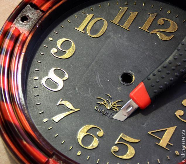 часы переделка