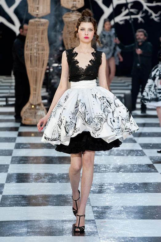 Franck Sorbier Haute Couture весна-лето 2014, фото № 4