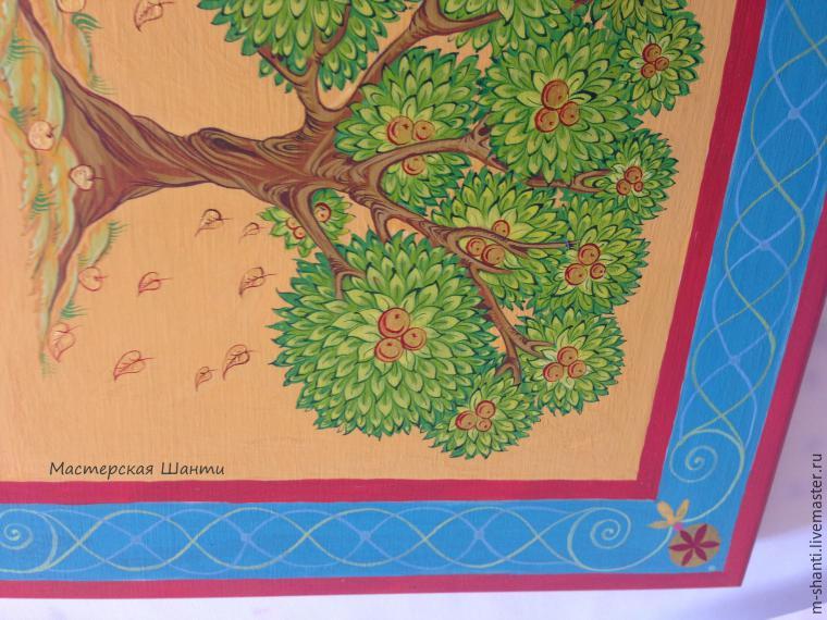 Расписываем яркую шкатулку-развивайку для детей, фото № 26