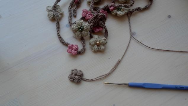 """Цветочный шнурок """"В ожидании Весны"""""""