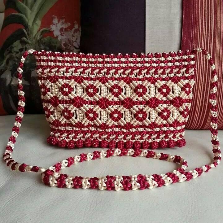плетёные сумки