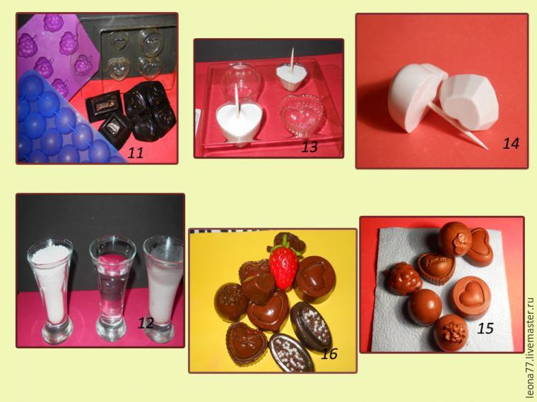 Как сделать муляж конфеты своими руками