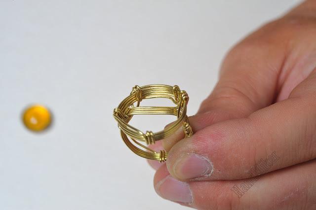 Властелин колец, или Как создать перстень из одного цельного куска проволоки, фото № 33