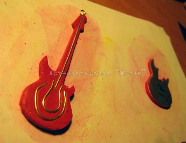 гитара из пластики