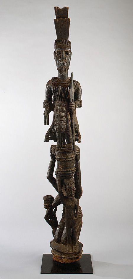 Olowe of Ise (Yoruba, ca. 1873–1938)  Yoruba peoples; Nigeria