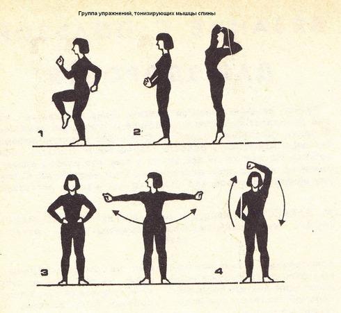 вязание, гимнастика
