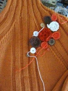 новый свитер из старого