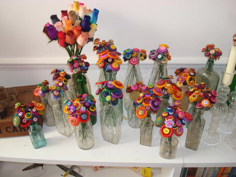 Рукоделки из пуговиц - Ярмарка Мастеров - ручная работа, handmade