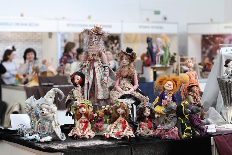 Международной выставка авторских кукол и мишек «Панна DOLL'я» в Минске. Часть 1., фото № 37