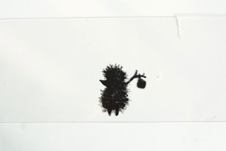 Ёжик в тумане нарисованный карандашами
