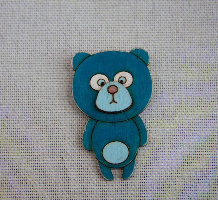brooch bear