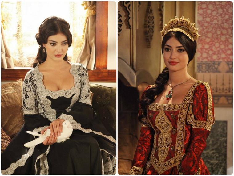 Великолепный век все платья хюррем фото