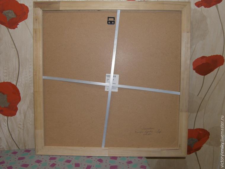 Оформление готовой вышивки в рамку, фото № 25