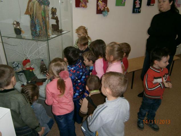 В г. Камышине прошла выставка кукол  «Ателье чудес», фото № 10