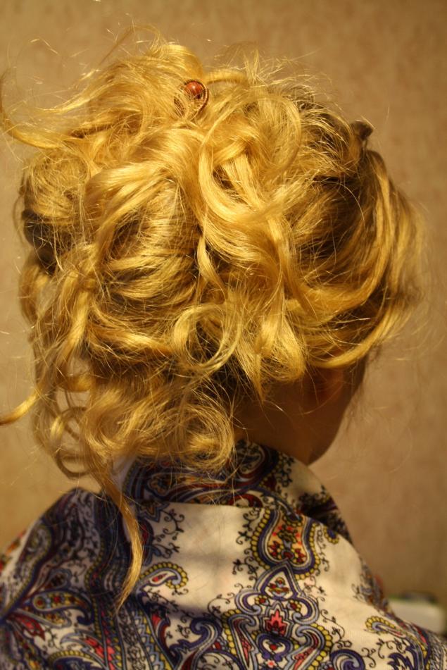 медные украшения, заколка для волос, шпильки, прическа, подарок женщине