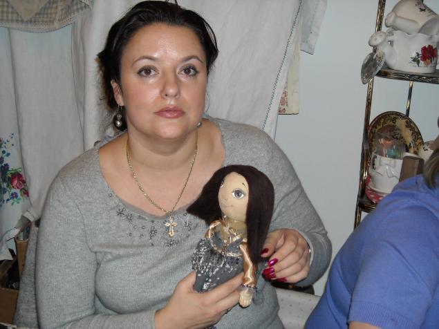 мк по кукле тыковке, текстильная кукла