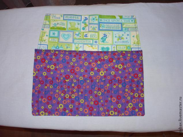 пенал из ткани