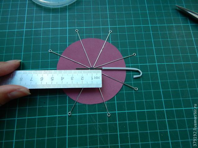 Миниатюрные зонтики своими руками