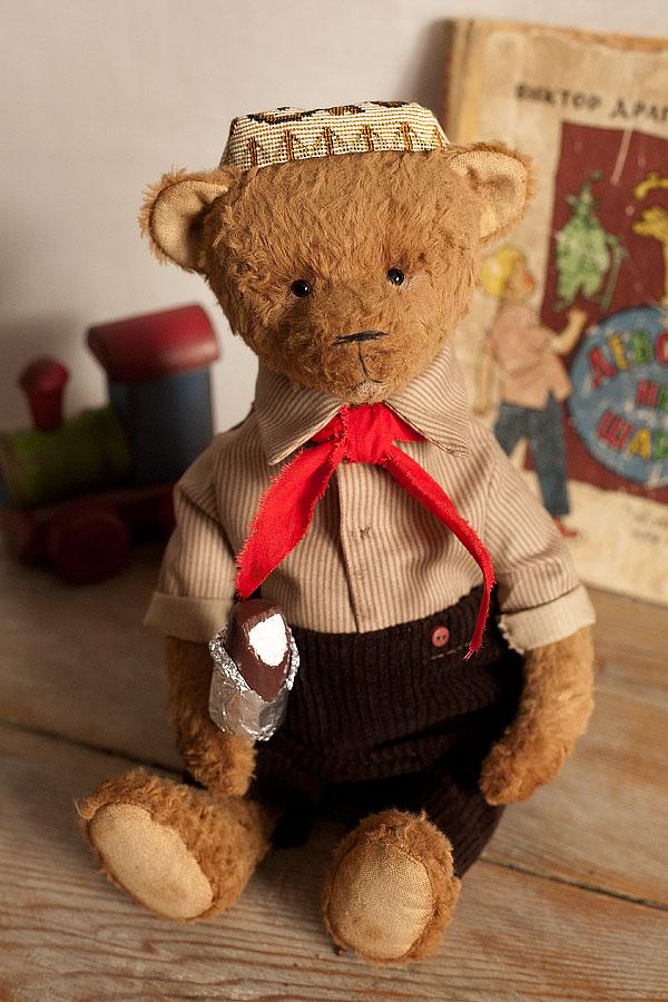 эскимо, авторский мишка тедди
