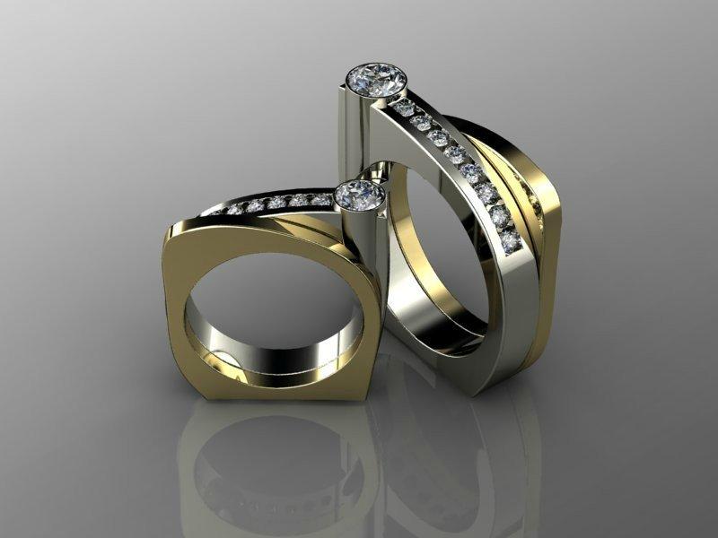 нестандартное кольцо