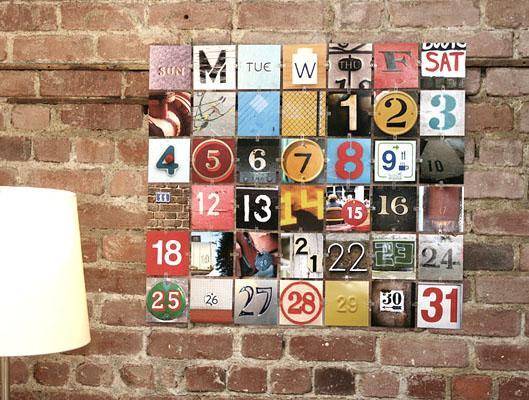 Фото календарь своими руками
