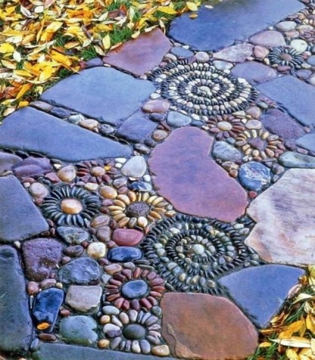 как сделать дорожку в саду на даче Хьюго Пьюго