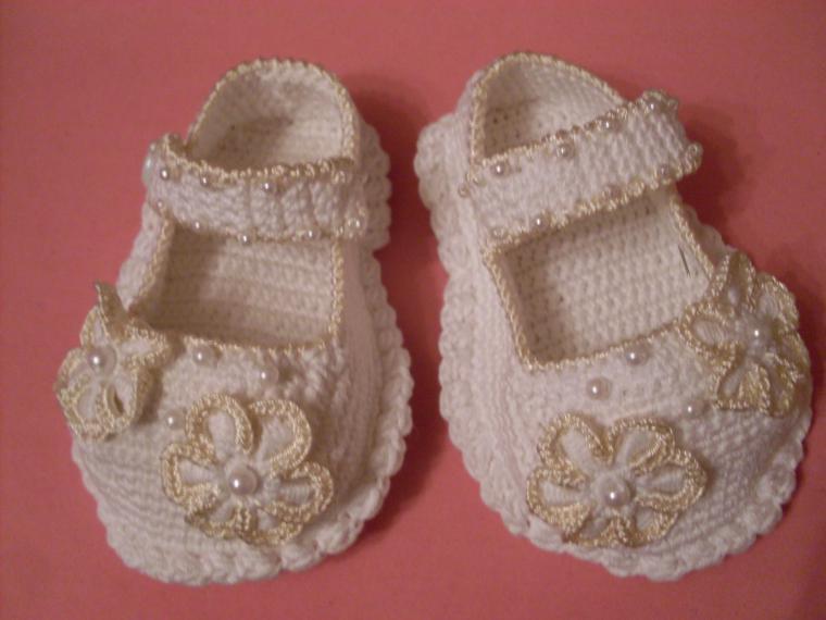 туфельки крючком для малышки отели Ниме