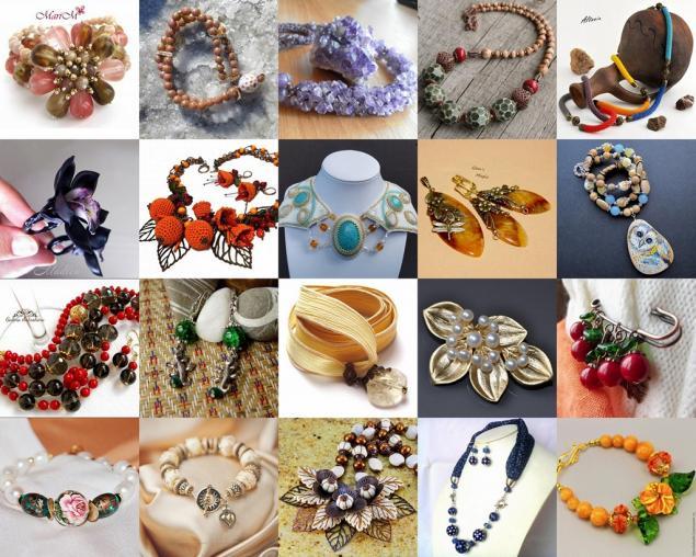 украшения, украшения ручной работы, бижутерия, бижутерия своими руками, галерея, галерея бижутерии