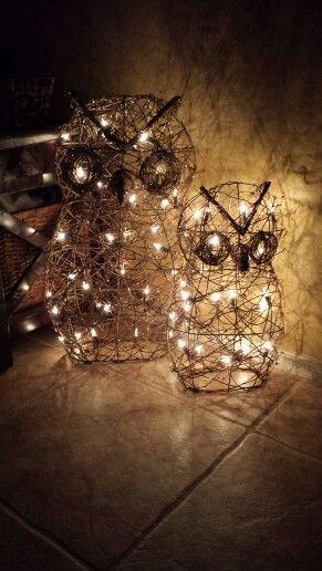 Fall owl decor :)