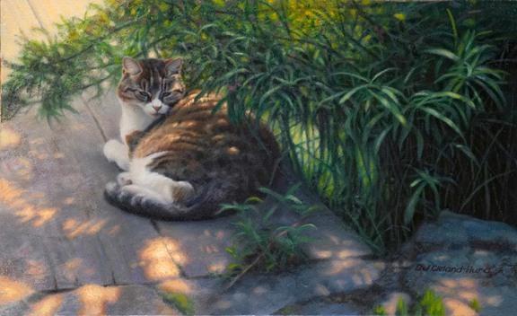 Животные - американский художник D. J. Cleland-Hura