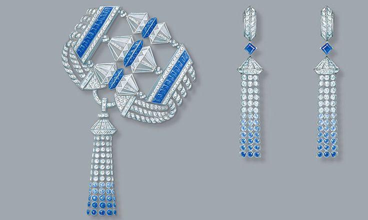 О самом важном в ювелирном дизайне эскизы Ярмарка Мастеров  boucheron ювелирный дом