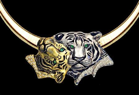 тигр кольцо