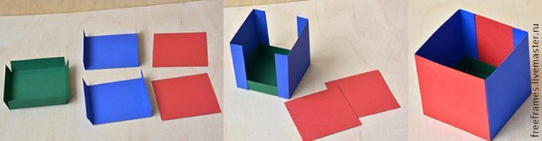 как сделать коробку, мастер-класс по коробке