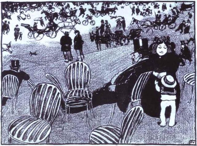 Черно-белая графика знаменитых художников, фото № 28