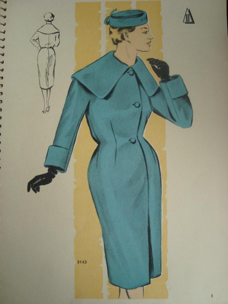 раритет, мода 50 годов, пошив одежды