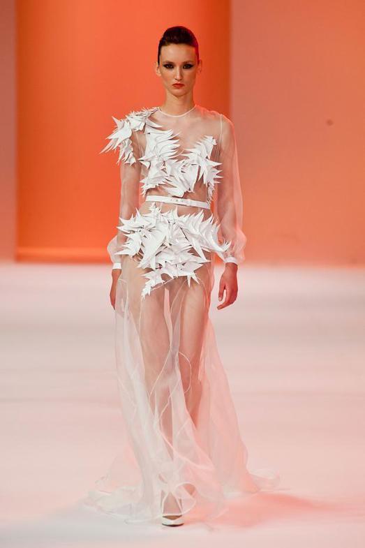 Stephane Rolland Haute Couture весна-лето 2014, фото № 30