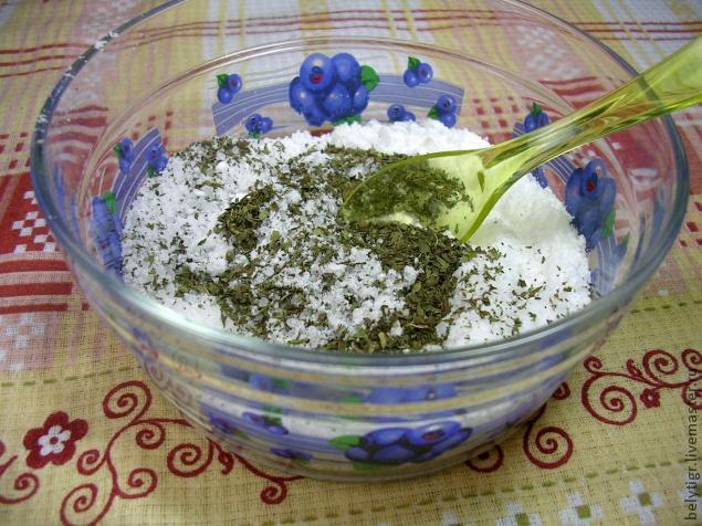 Мятная соль для ножных ванн, фото № 6