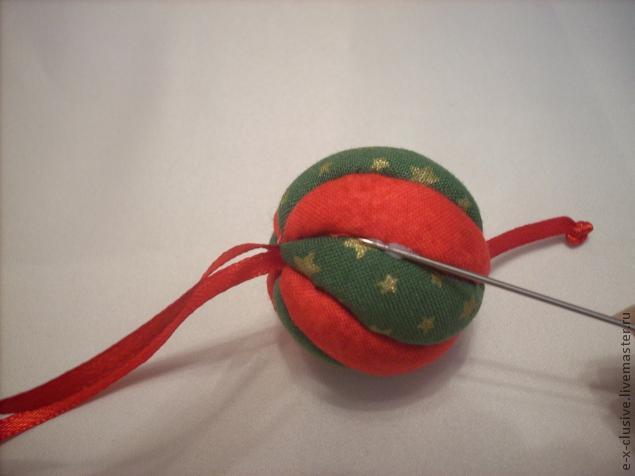 Елочные шары в технике кимекоми, фото № 15