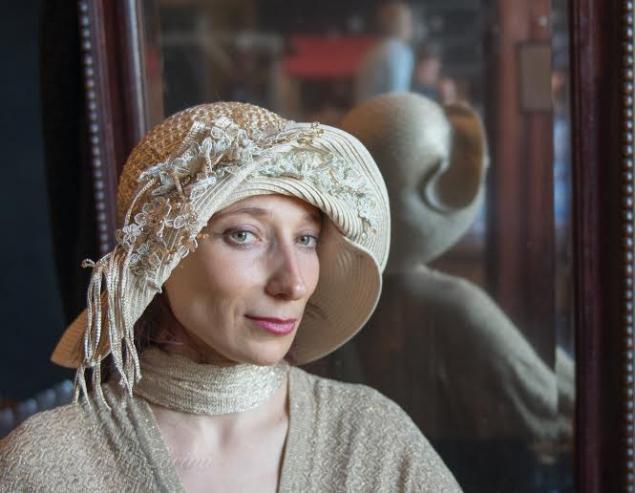 свадебная мода, авторские шляпки
