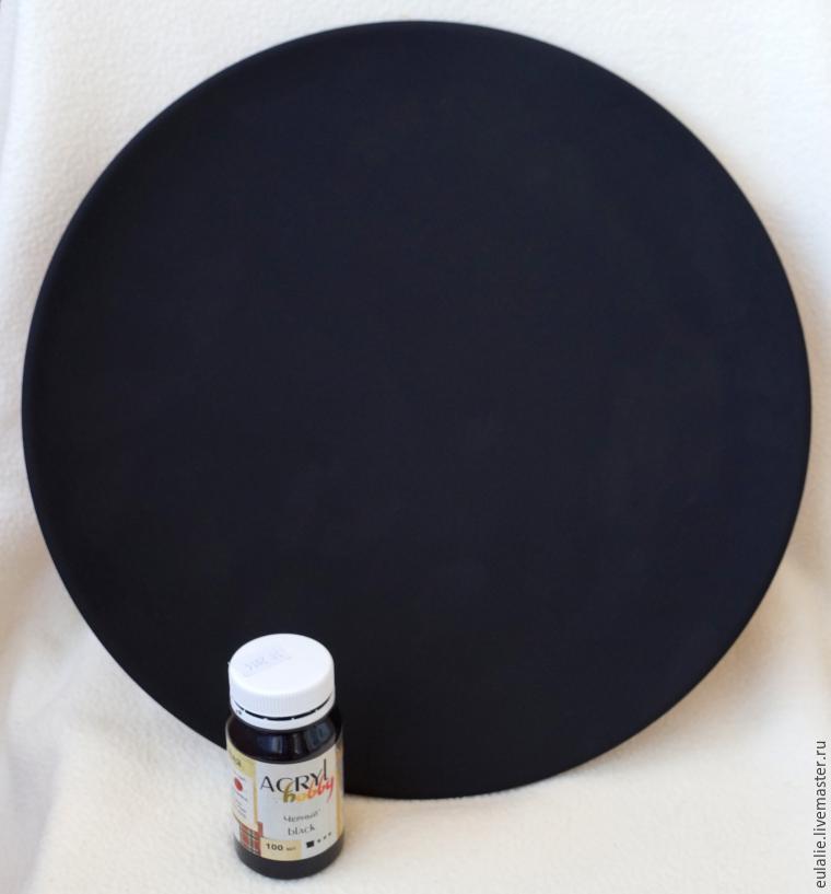 Мастер-класс по точечной росписи: тарелка-панно «танцующий Шива», фото № 1